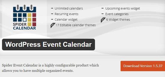 9 Best WordPress Calendar Plugins 5