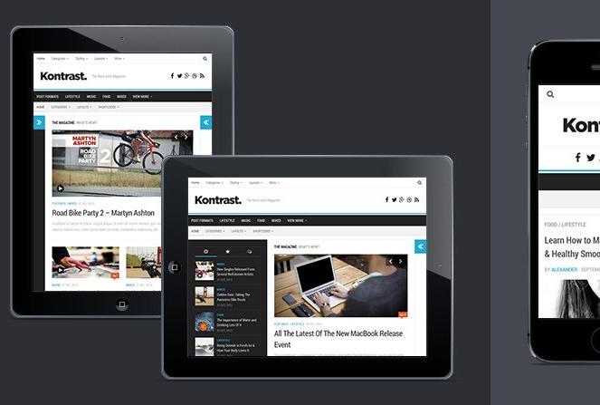 9 Fresh Free WordPress Themes 15