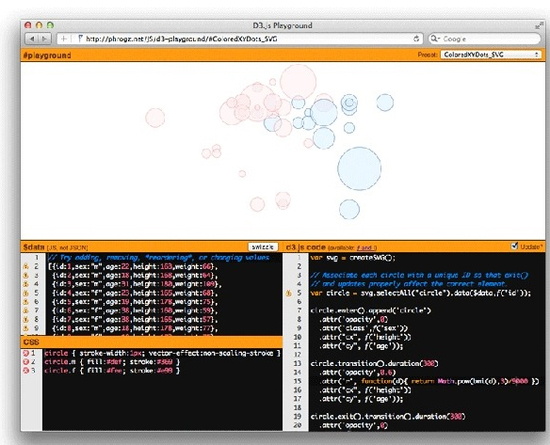7 (More) Coding Playgrounds For Web Developers 4