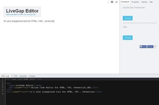 7 (More) Coding Playgrounds For Web Developers 6