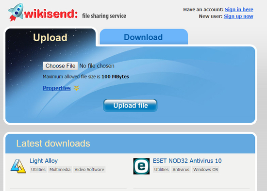 Best Free Programs & Online Services For Sending And Sharing Large Files 4