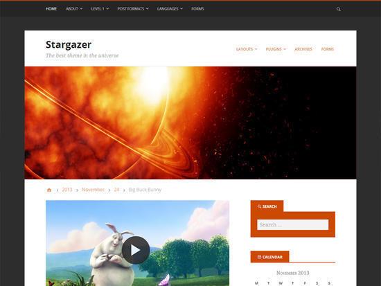 9 Beautiful Free WordPress Themes For 2017 4