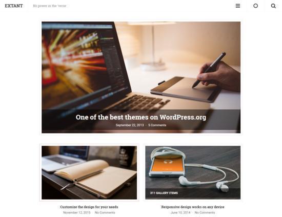 9 Beautiful Free WordPress Themes For 2017 6