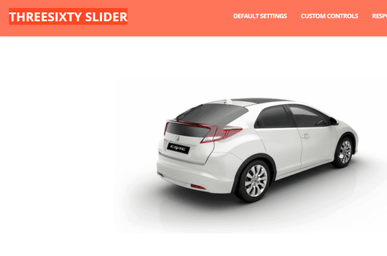 8 Best jQuery 360 Degree Image Rotation Plugins 5