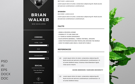 12 Free Business Cards, Resumes, Corporate Identity Packages 5