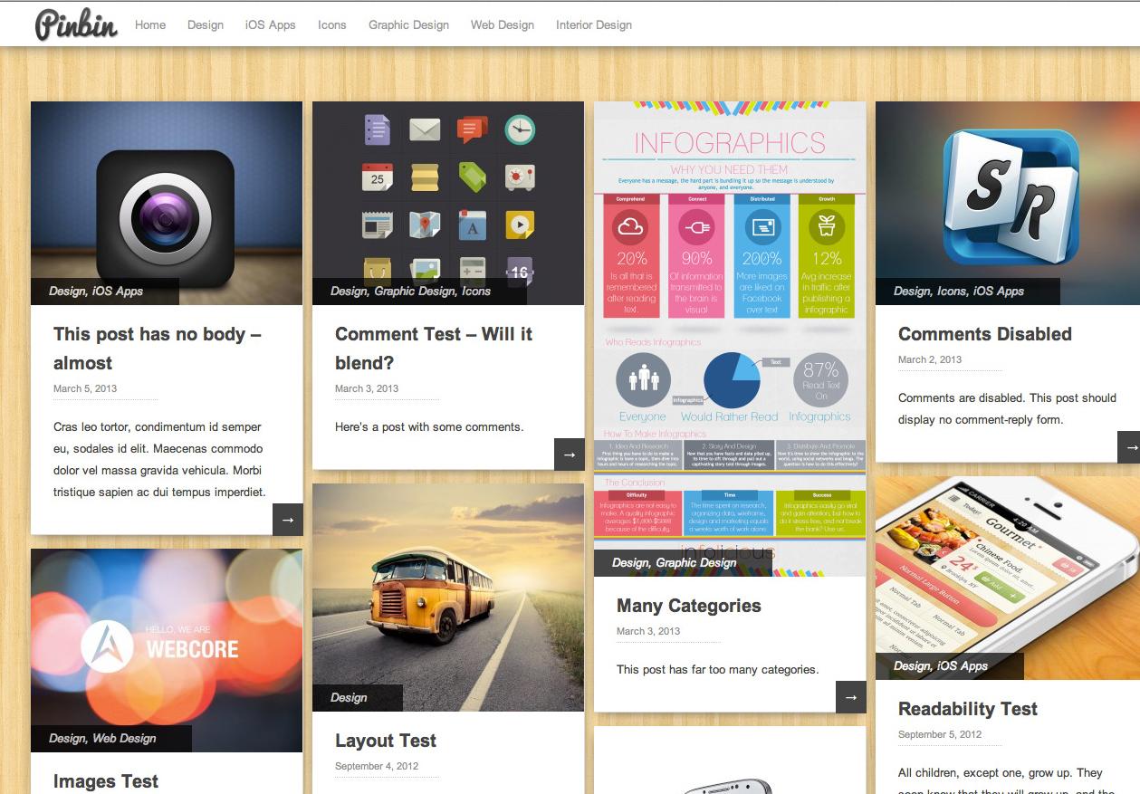 9 Free WordPress Artistic Themes 6