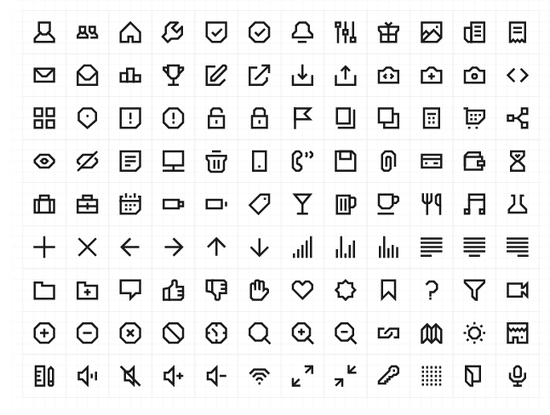 11 Free High-Quality Line Icon Sets 3