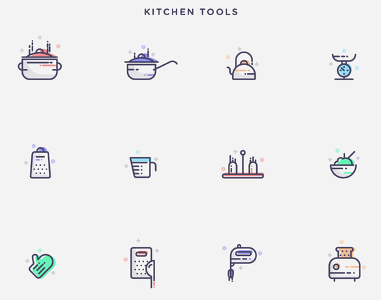 11 Free High-Quality Line Icon Sets 5