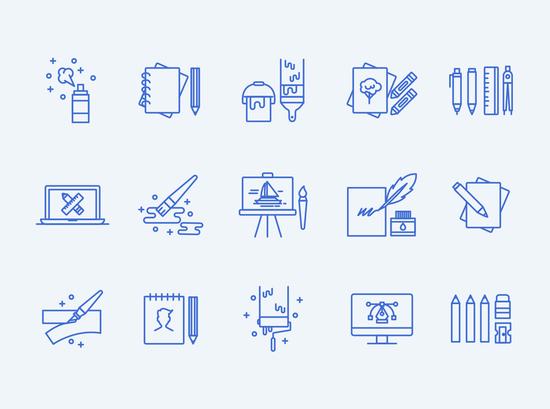 11 Free High-Quality Line Icon Sets 7