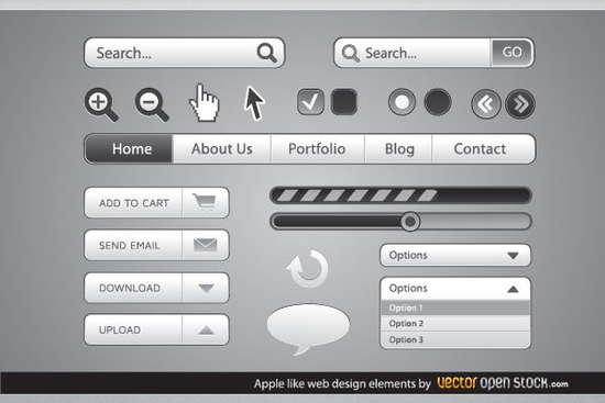 10 Search Box PSD Designs For Free Download 3