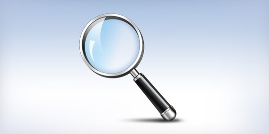 10 Free Magnifying Glass Search Icons Sets (PSD + Vector) 5