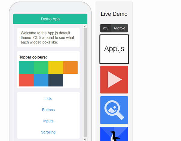 Four Robust Mobile Application Builders To Build Amazing Apps 5