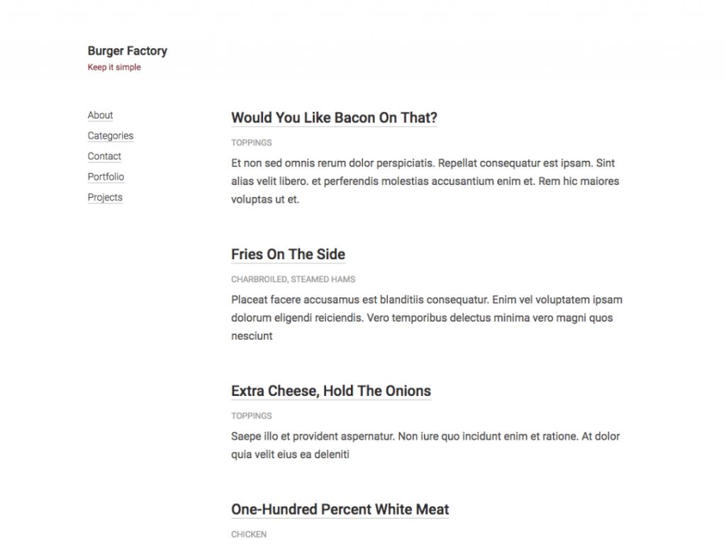 11 Super Simple Wordpress Themes 6