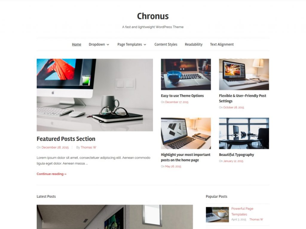 11 Super Simple Wordpress Themes 8