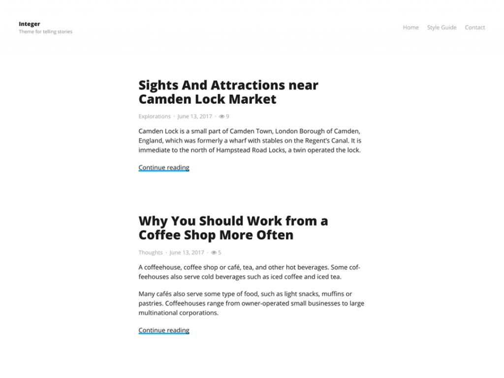 11 Super Simple Wordpress Themes 12