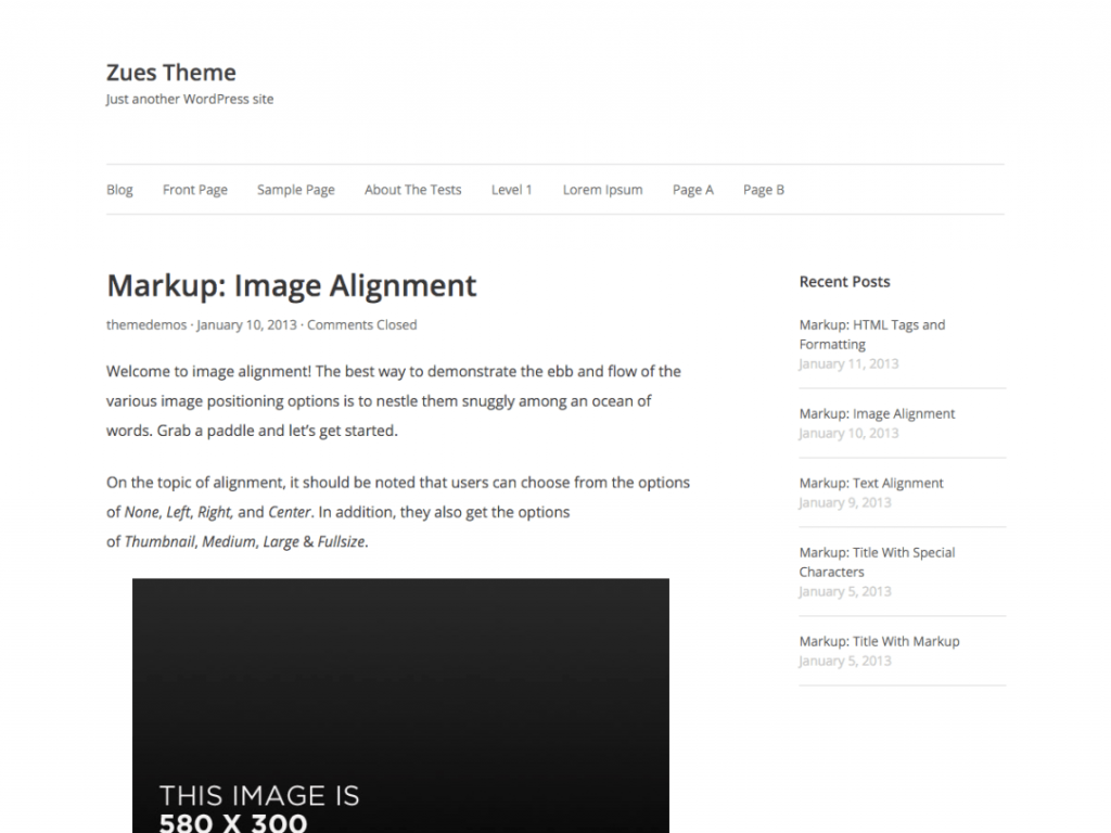11 Super Simple Wordpress Themes 3