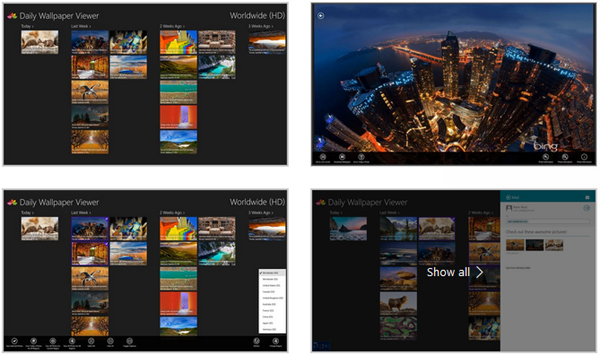 8 Free Wallpaper Photos Apps On Microsoft Store You (Might) Never Knew For Windows 2