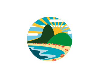 Sun Rising Logo Designs That Make You Say Wow 7