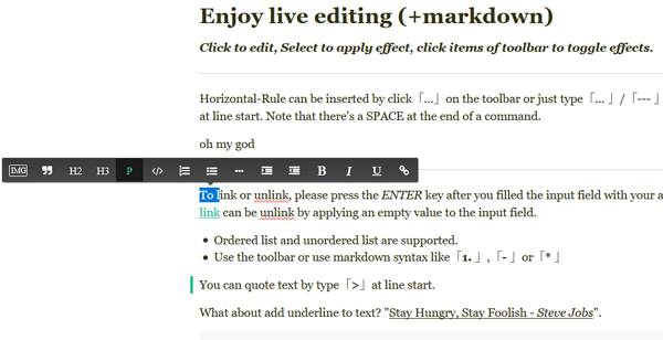 12 Diversified Yet Free To Use WYSIWYG Text Editors 3