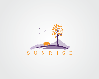 Sun Rising Logo Designs That Make You Say Wow 9