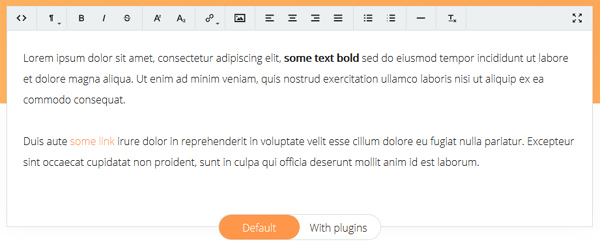 12 Diversified Yet Free To Use WYSIWYG Text Editors 13