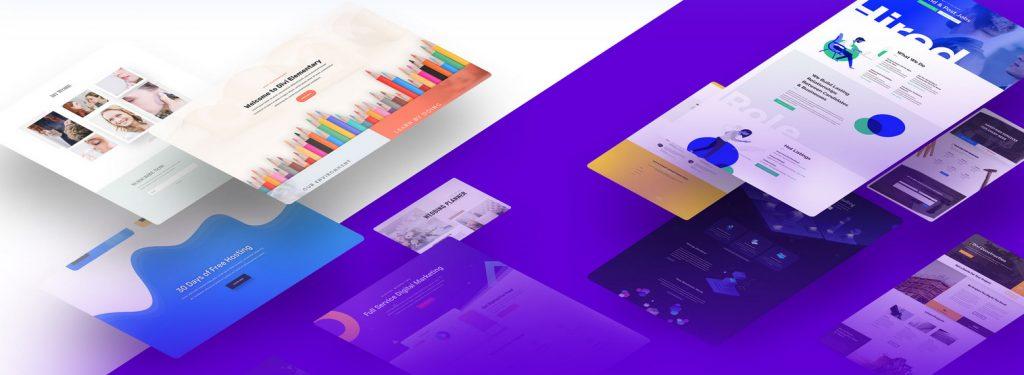 divi free wordpress theme layout packs