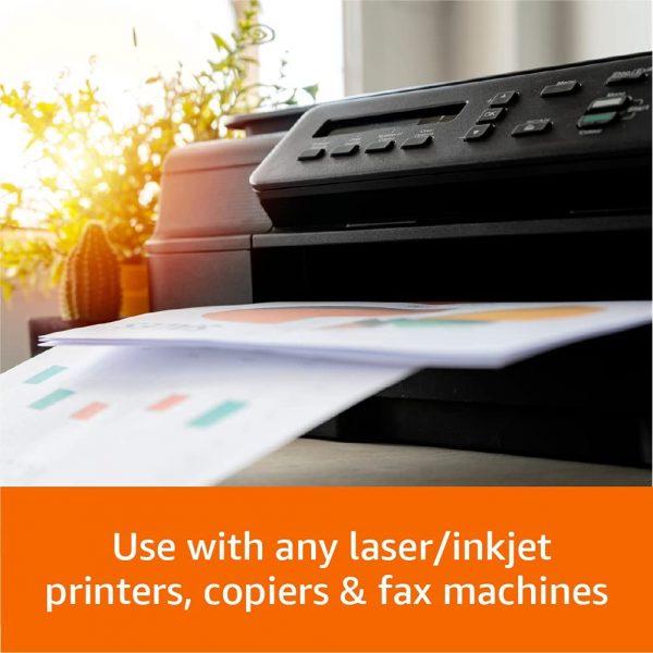 5 Ream Multipurpose Copy Printer Paper (2500 Sheets) 4