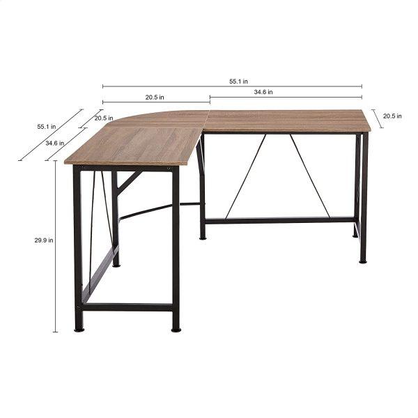 L-Shape Office Corner Desk for Workplace 2