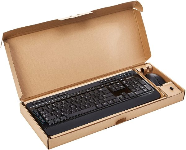 Wireless Computer Mouse and Keyboard Combo 6