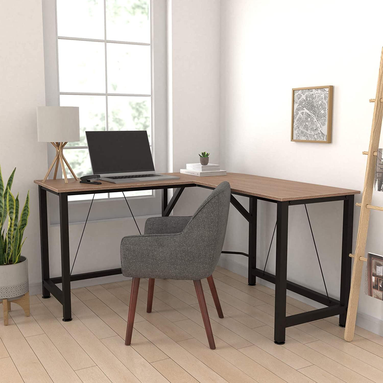 L-Shape Office Corner Desk for Workplace 5