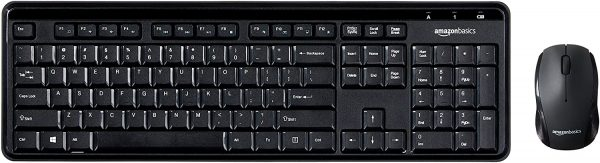 Wireless Computer Keyboard and Mouse Combo 1