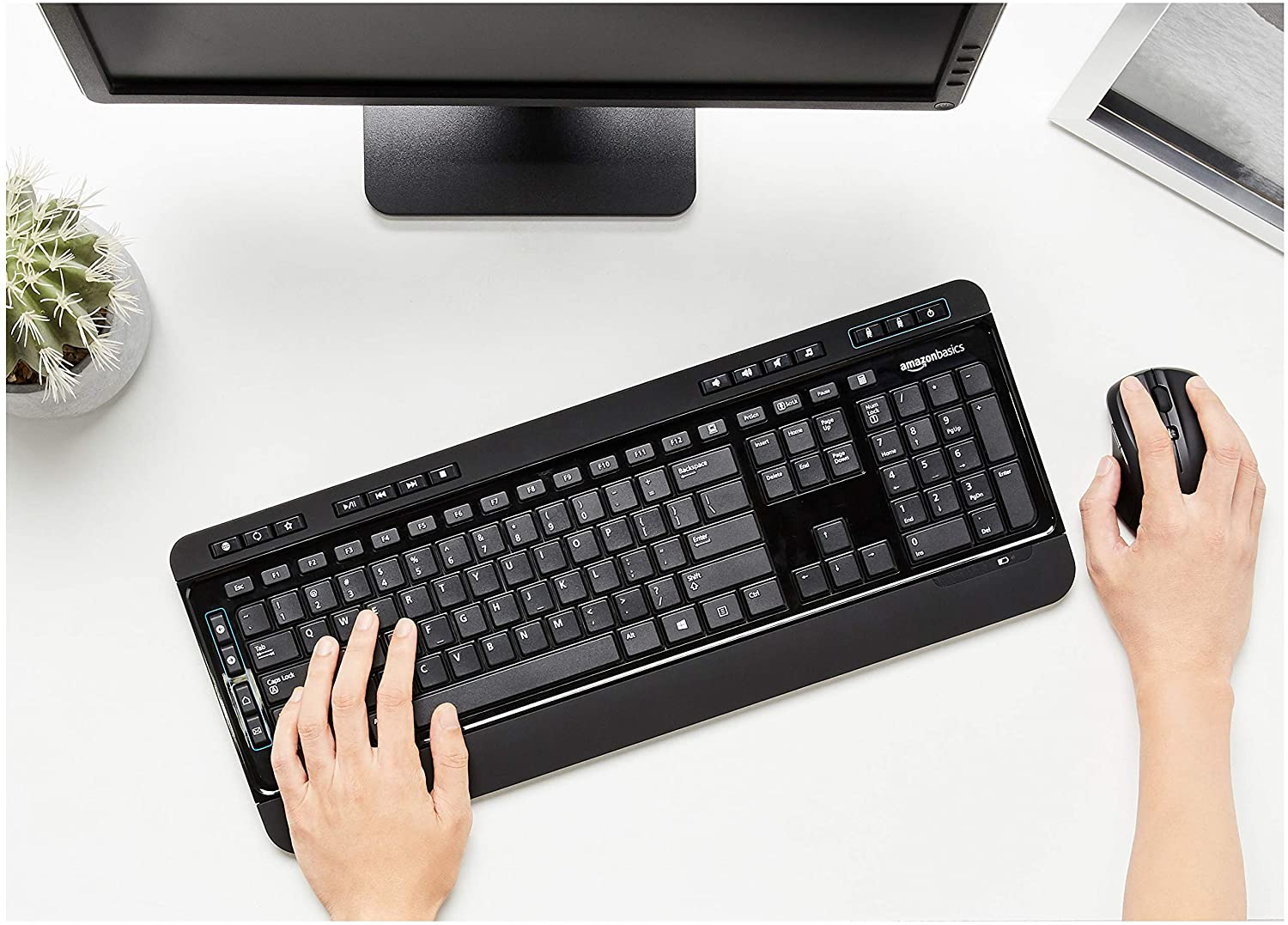 Wireless Computer Mouse and Keyboard Combo 7