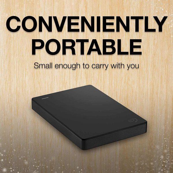 Portable External Seagate Hard Drive