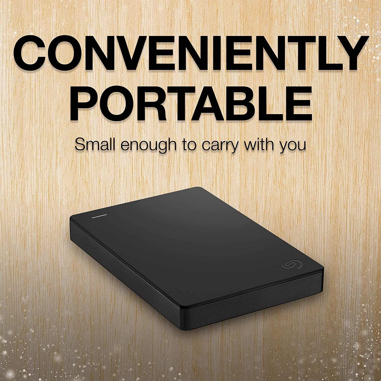 2TB Portable External Seagate Hard Drive (STGX2000400)