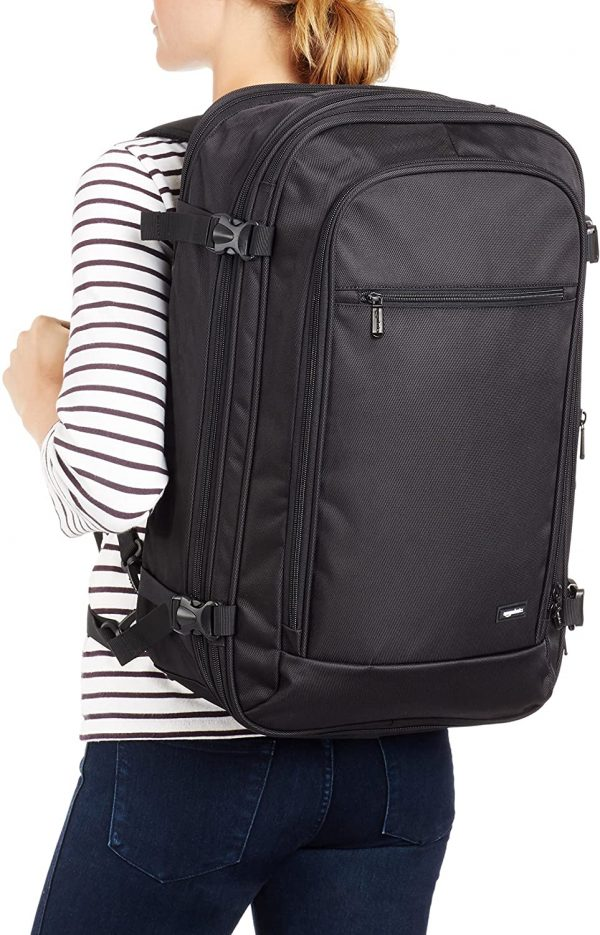 Carry-On Travel Backpack Flexible and Lightweight 2