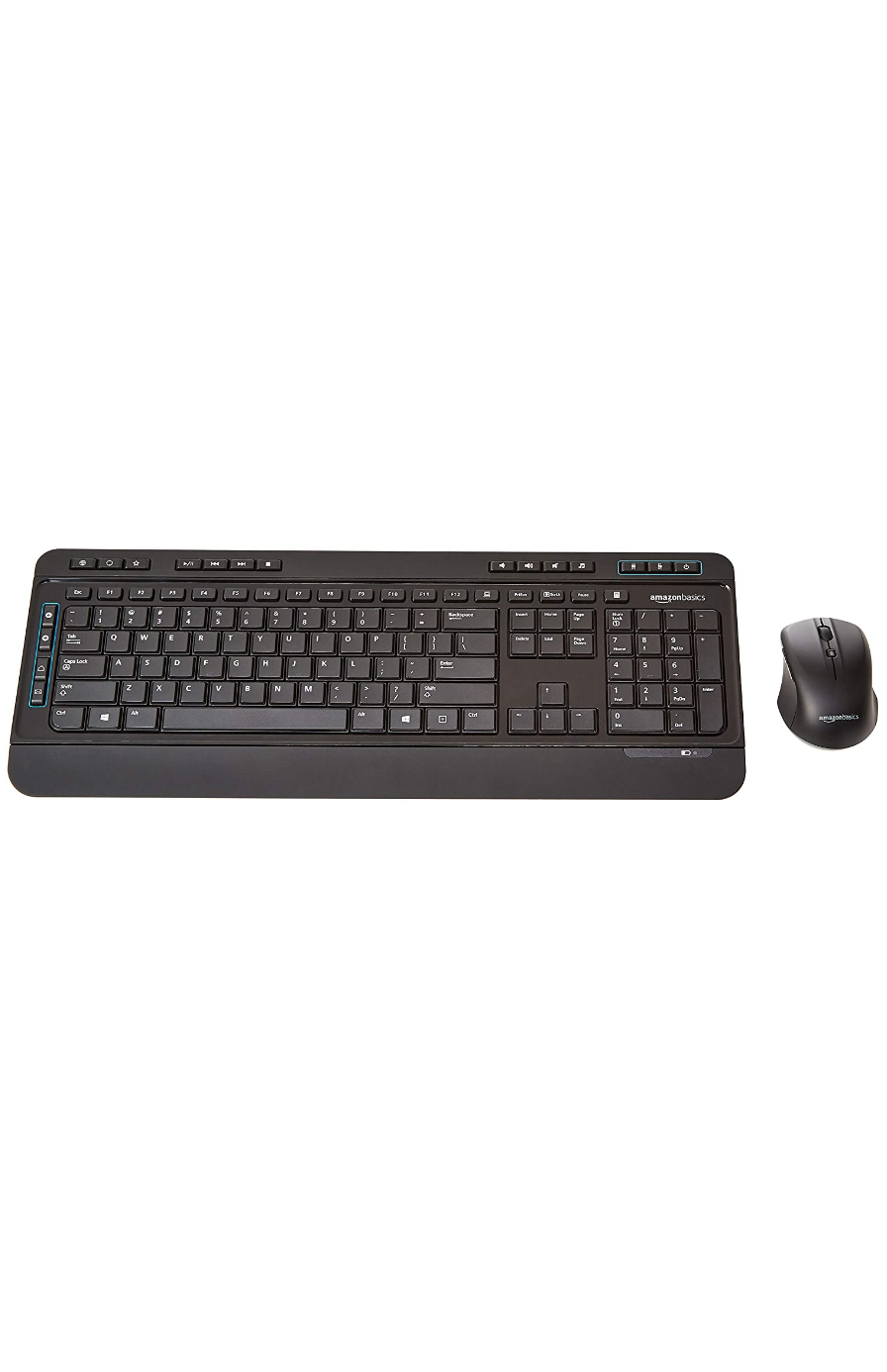 Wireless Computer Mouse and Keyboard Combo