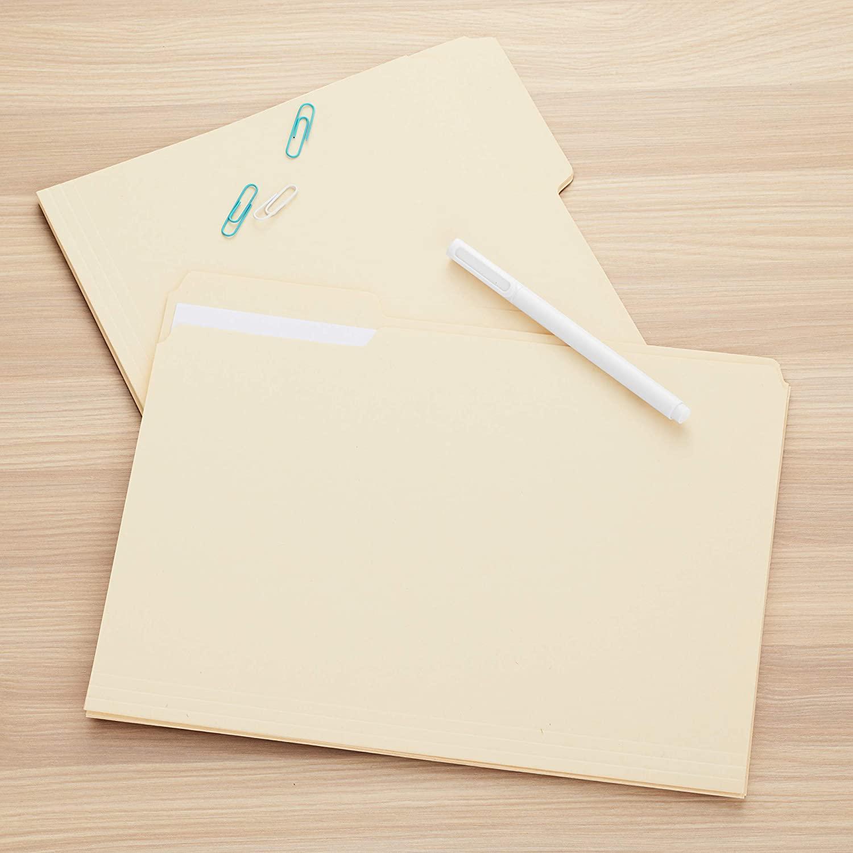 File Folders Letter Size