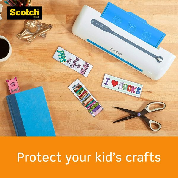 Scotch Thermal Laminating Pouches, 8.9 x 11.4 Inches 5