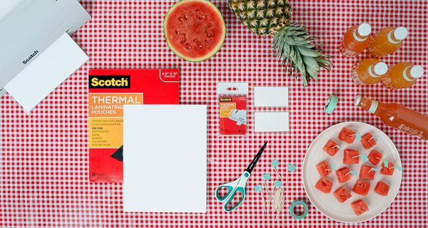 Scotch Thermal Laminating Pouches, 8.9 x 11.4 Inches 2