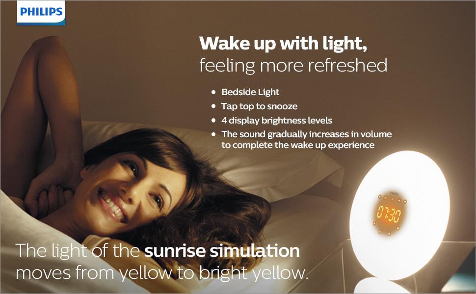 Philips Wake-Up Light Therapy Alarm Clock