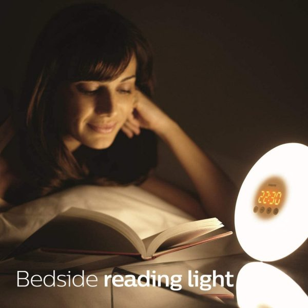 Philips Wake-Up Light Therapy Alarm Clock with Sunrise Simulation 3
