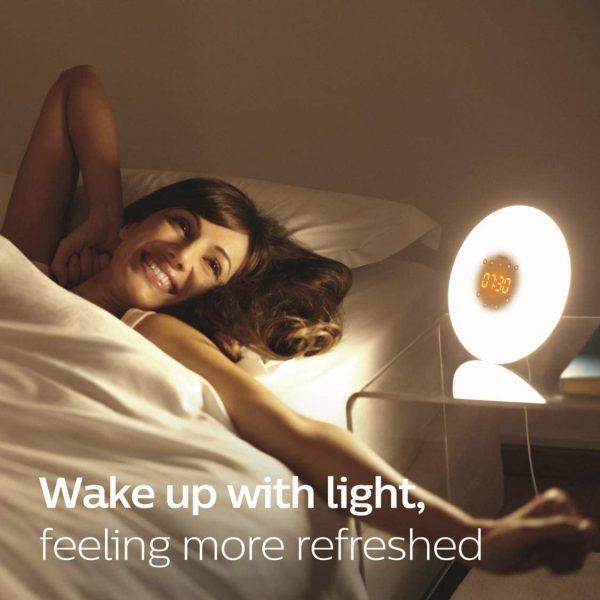 Philips Wake-Up Light Therapy Alarm Clock with Sunrise Simulation 2