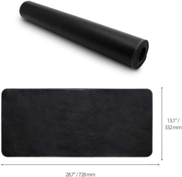 Londo Leather Extended Mouse Pad - 74 x 33.5 cm / 28.74 x 13.1 2
