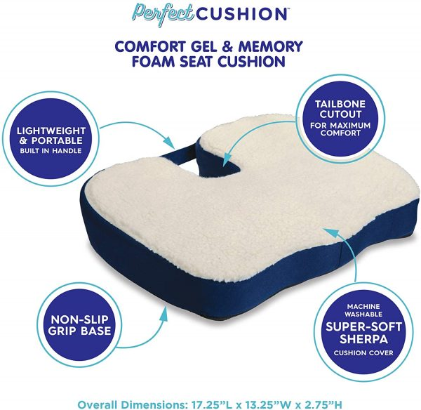 Perfect Seat Cushions for Office Chairs Home or Car 2