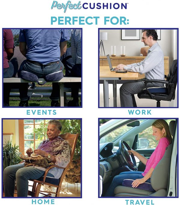 Perfect Seat Cushions for Office Chairs Home or Car 5