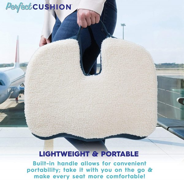 Perfect Seat Cushions for Office Chairs Home or Car 6