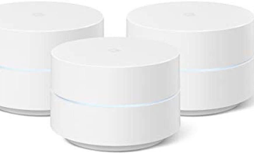 Google Wifi Mesh WiFi System Wifi Router Coverage 4500 Sq Ft