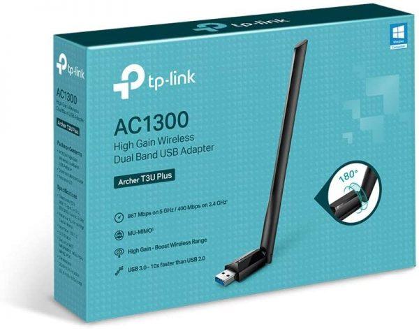 TP-Link USB WiFi Adapter for Desktop PC AC1300Mbps USB 3.0 6
