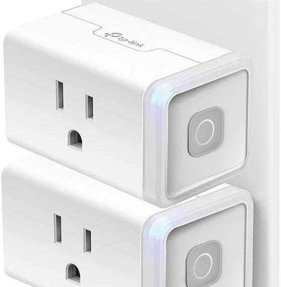 Kasa Smart Plug HS103P2, Smart Home Wi-Fi Outlet