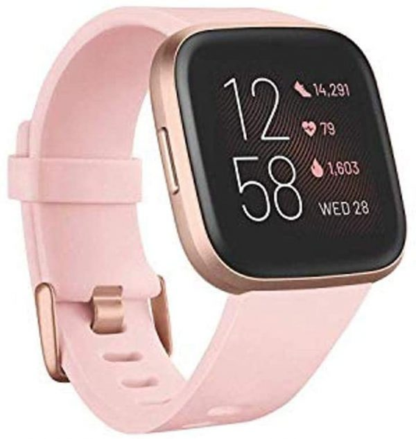 Fitbit Versa 2 Smartwatch for Health and Fitness, Heart Rate 1